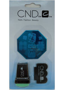 Körömnyomda készlet - CND - Lemez + pecsét + lehúzó
