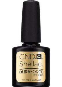 SHELLAC Topcoat DURAFORCE Top Coat - 15 ml