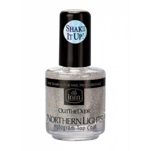 Hologram fedőfény Northern Lights ezüst - 15 ml