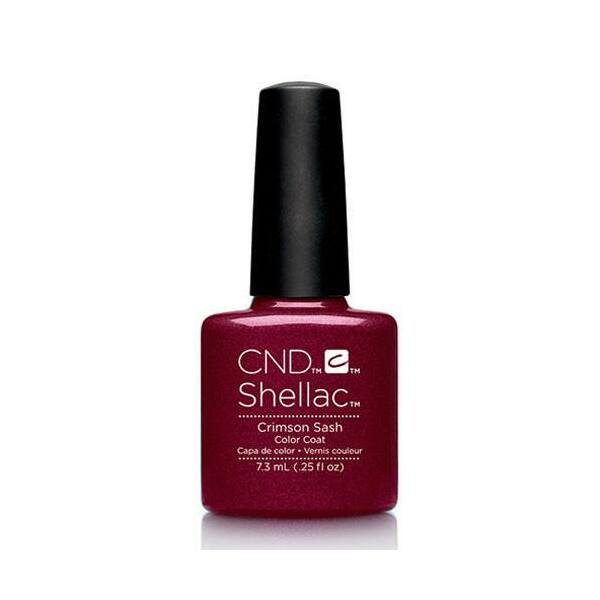 SHELLAC színek Crimson Sash 7,3 ml