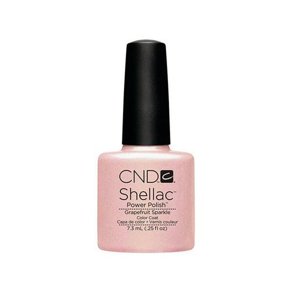 SHELLAC színek Grapefruit Sparkle - 7,3 ml