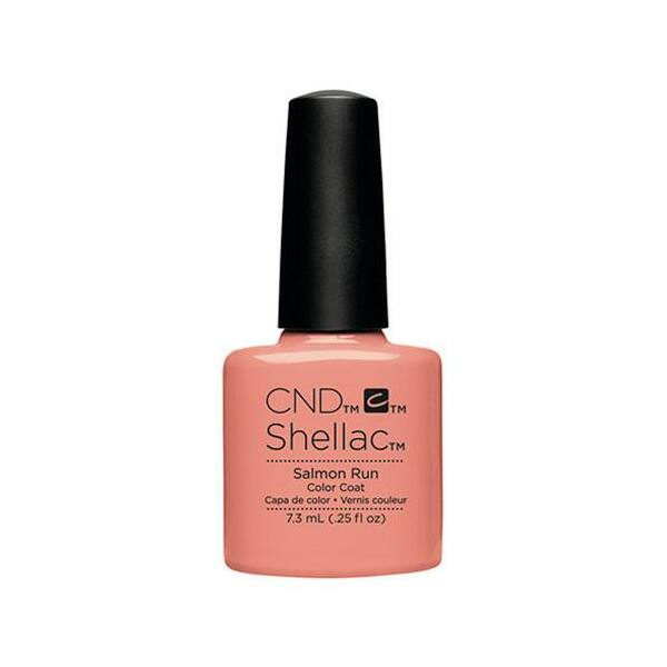 SHELLAC színek Salmon Run - 7,3 ml